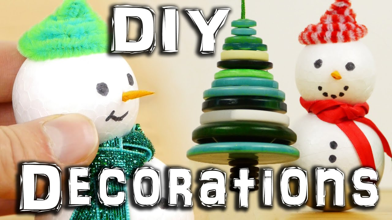 5 Diy Christmas Decorations Youtube