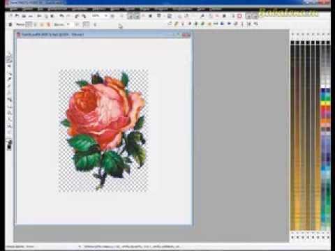 Вырезаем рисунок из контрастного однородного фона в CorelDRAW
