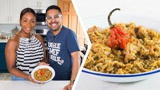 How To Make Trini Black Eyed Peas & Rice | Foodie Nation
