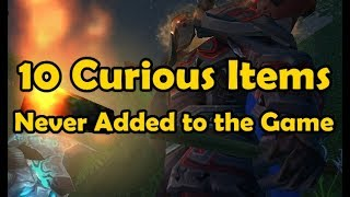 10 Curious Items Never Added To The Game