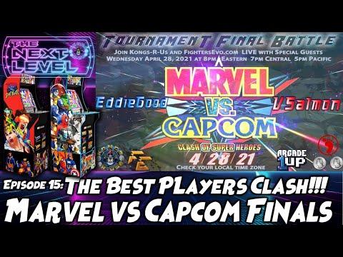 Arcade1Up Marvel vs Capcom Tournament Finals (The Next Level: Ep 15) from Kongs-R-Us