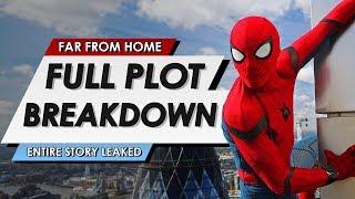 Spider-Man: Far From Home: Full Leaked Plot Breakdown + Post Credit Scene Explained | HEAVY SPOILERS