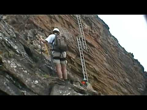 Klettersteig Schwarzhorn : Schwarzhorn klettersteig 2.928 m youtube