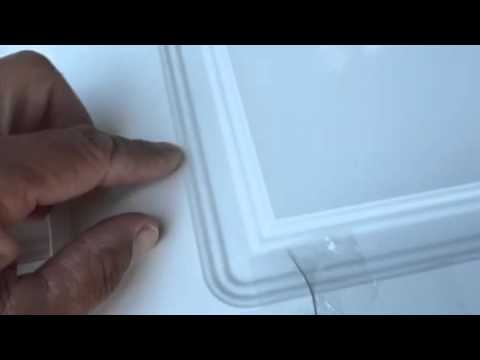 Repair Thermofoil Cabinet Doors - YouTube