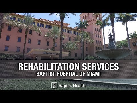 Rehabilitation Services Department at Baptist Hospital