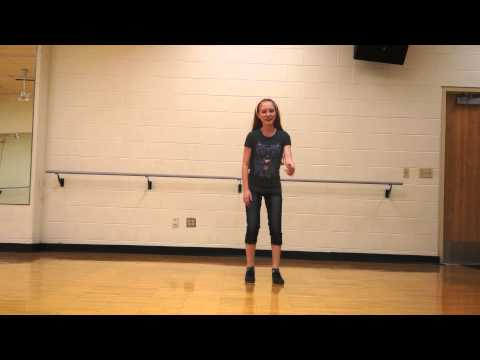 Araya Feeney - Tap Dance - Cup Song