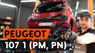 Comment changer Ressort PEUGEOT 107 - video gratuit en ligne