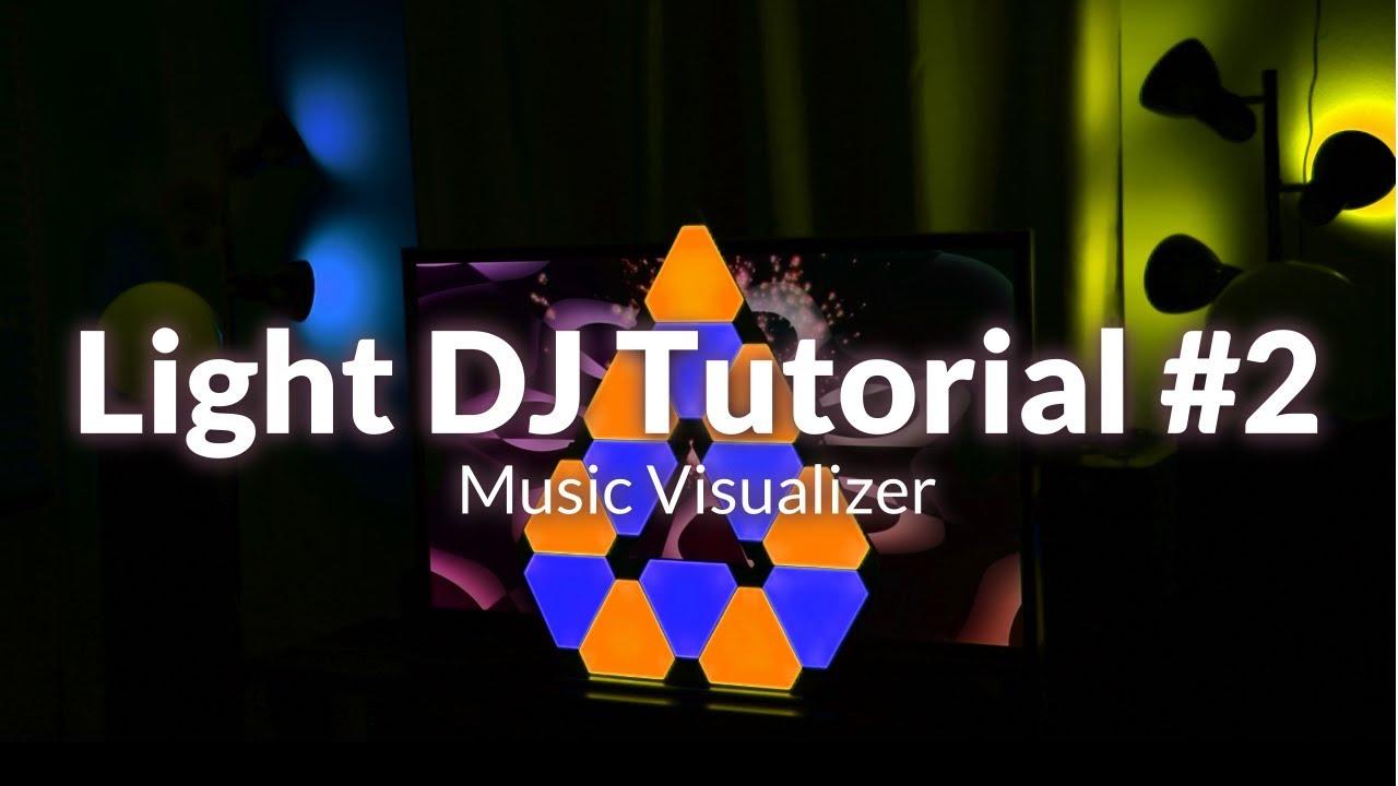 Light dj visualizer tutorial for hue entertainment nanoleaf