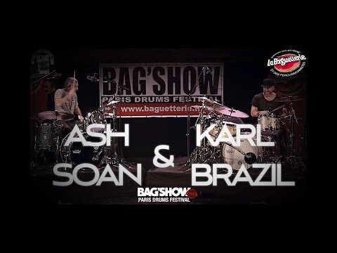 Ash Soan & Karl Brazil - Bag'Show 2018