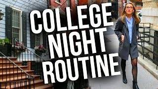 College Night Routine in NYC! Night Routine 2017