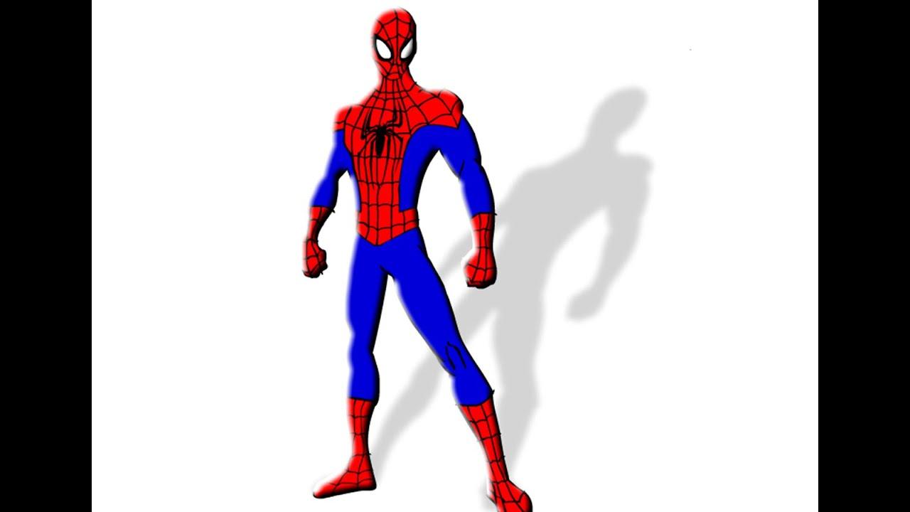 Dibujando Al Hombre Araña