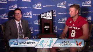 2017 #BigSkyFBKickoff: Gage Gubrud Interview