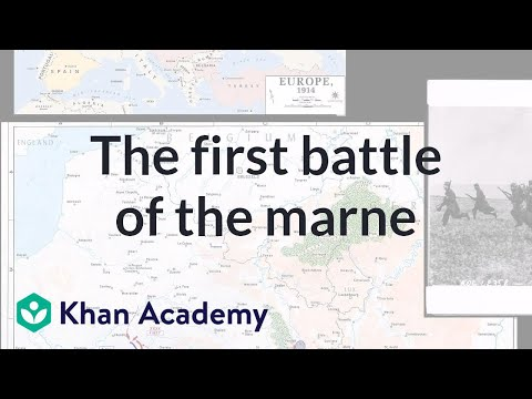Schlieffen Plan and the First Battle of the Marne | The 20th century | World history | Khan Academy