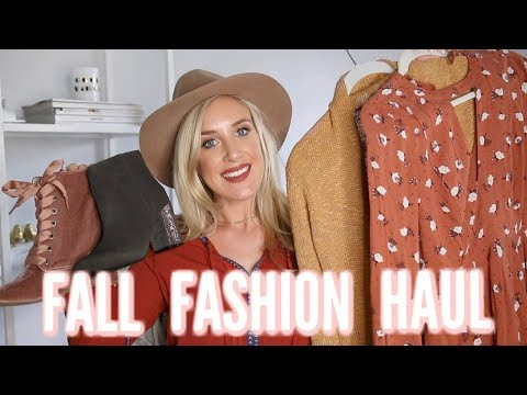 HUGE FALL FASHION HAUL | Clothing, Shoes, Accessories Try-On!