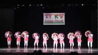 Diwali 2012 Umbrella Dance