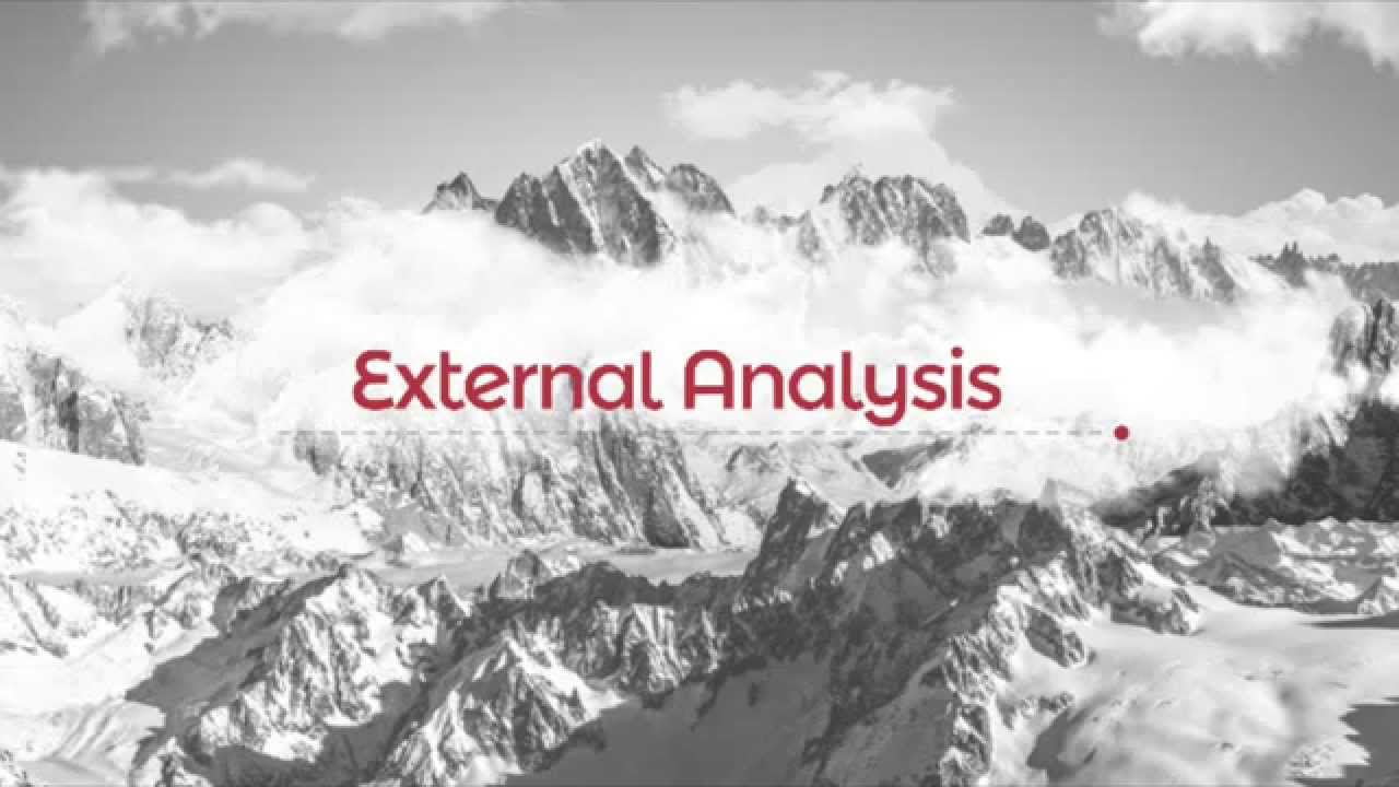 external analysis business report Strategic analysis tools as part of the management  business analysis benchmarking balanced  pest analysis is a scan of the external.