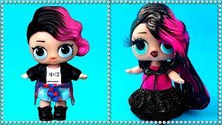 Трансформация ЛОЛ в салоне красоты. Новая прическа и стиль куклы лол сюрприз. Мультик LOL surprise