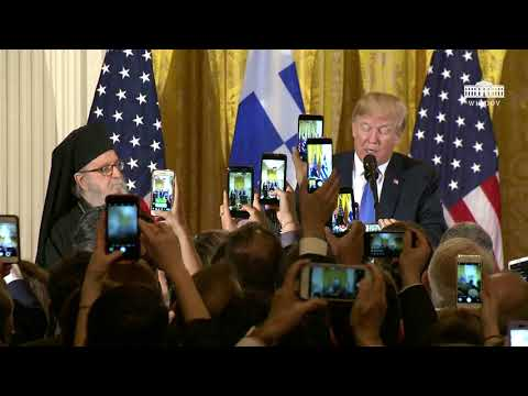 President Trump Hosts the Greek Independence Day Celebration