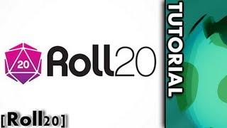 [Tutorial] roll20