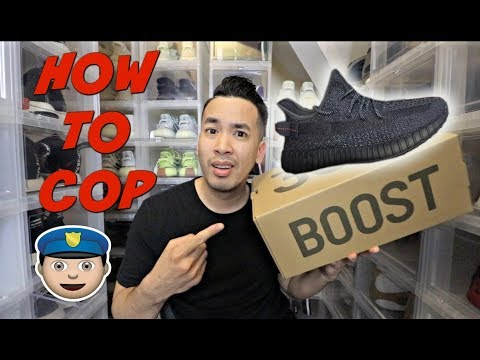 """how-to-cop-yeezy-350-""""black""""-v2-reflective-&-non-3m"""