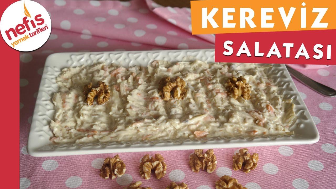 Kereviz Salatası Tarifi Videosu