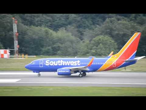 BWI Plane Spotting with JUMBOs and 727 - Summer 2016