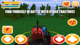 Toy Farming Tractor Battles 3D - HD Gameplay Video