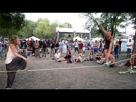 Sziget 2011 - kötéltánc (wire dance) letöltés