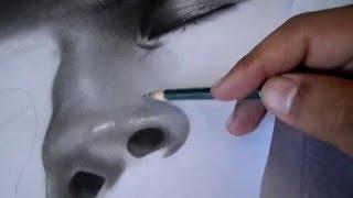 draw  a realistic skin by Mohamed Tarek El Menyawie