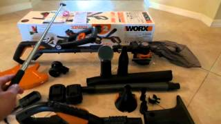 32V MaxLithium Cordless WORX GT 2.0 & WORX AIR PART1