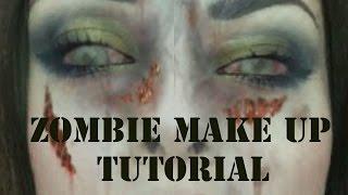 zombie makeup tutorial   cherylpandemonium