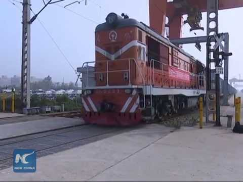 Moscow-central China freight train route opens
