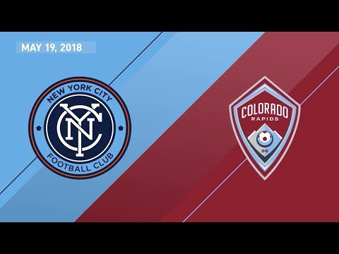 HIGHLIGHTS: New York City FC vs. Colorado Rapids | May 19, 2018