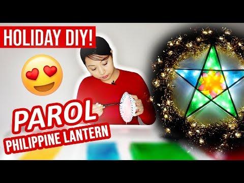 How to make a Parol (DIY) | Philippine Christmas Lantern