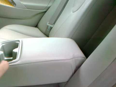 снятие задних сидений с toyota camry 2013