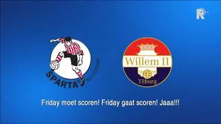Video Gol Pertandingan Sparta Rotterdam vs Willem II