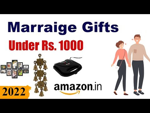 Top 10 Marriage Gifts Under Rs 1000 – Wedding Gifts Under 1000 ₹ from YouTube · Duration:  3 minutes 59 seconds