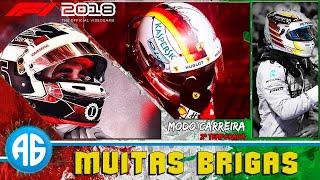 F1 2018 #35 GP DA ITÁLIA - LECLERC TEVE UMA CORRIDA MOVIMENTADA (Português-BR) 1080 60