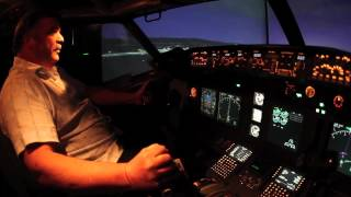 James Price builds a flight simulator in his Pleasanton, California garage