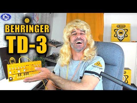 BEHRINGER TD 3 - DEMO/TEST avec Synthtribe Editor, Keystep 37, Pipe SOMA : Acid Fever (French)