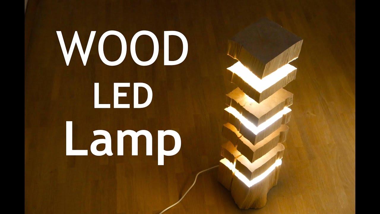 diy led feuerholz lampe anleitung deutsch mrhandwerk youtube. Black Bedroom Furniture Sets. Home Design Ideas