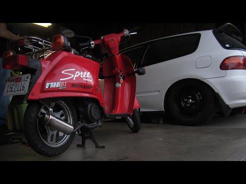 1986 Honda Spree NQ50 Not Starting ( - YouTube