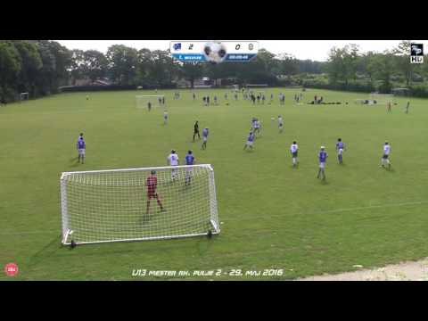 U13 SBU mester rk  Lyngby vs Virum 29 maj 2016 (6-0)