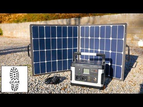 Tech: SUAOKI 100W Solarpanel