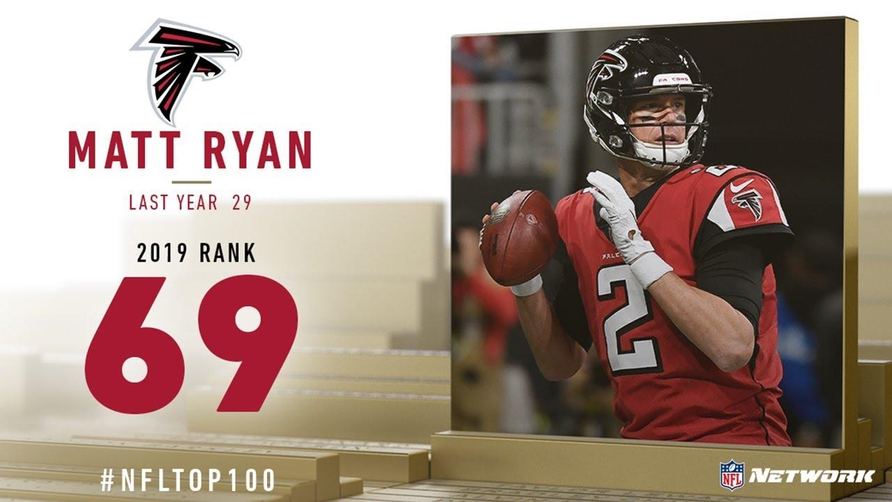 69 Matt Ryan Qb Falcons Top 100 Players Of 2019 Nfl Youtube