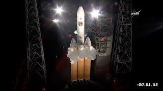 Delta IV Heavy aborted launch with NASA's Parker Solar Probe