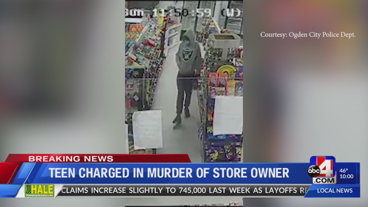 Teen Charged in Murder of Store Owner