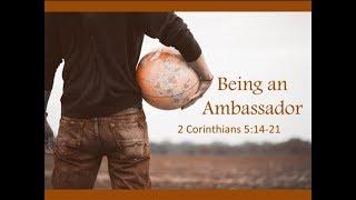 January 7, 2018 Being an Ambassador