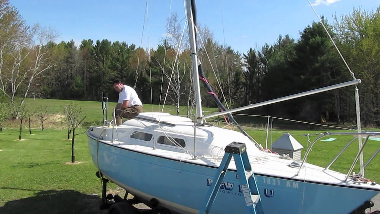 Gin pole mast raising system py23 paceshipv youtube publicscrutiny Gallery