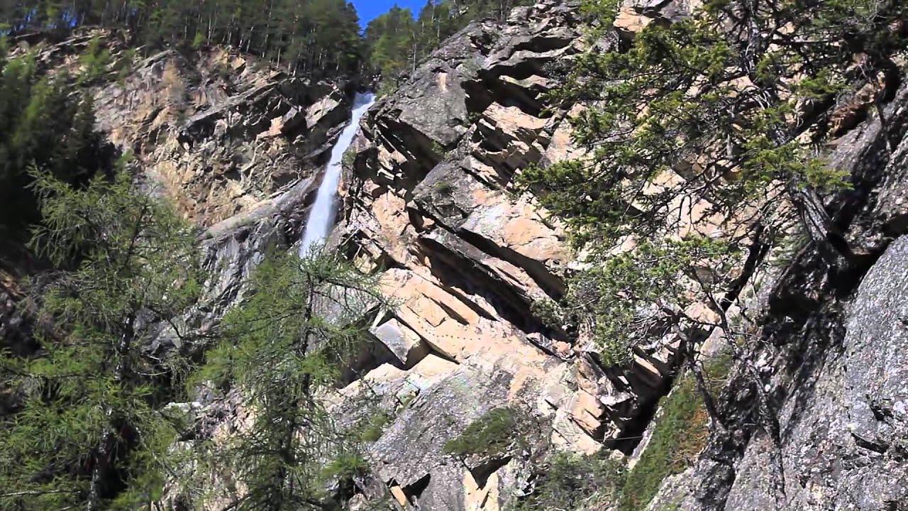Klettersteig Lehner Wasserfall : Klettersteig lehner wasserfall youtube